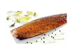 Varmrökt laxfilé med peppar Fryst 1,5kg Royal Greenland