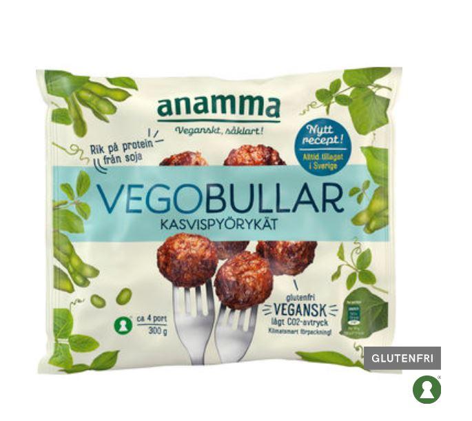 Vegobullar Frysta Anamma 300g