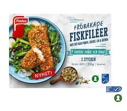 Fiskfilèer Fröbakade Findus 250g