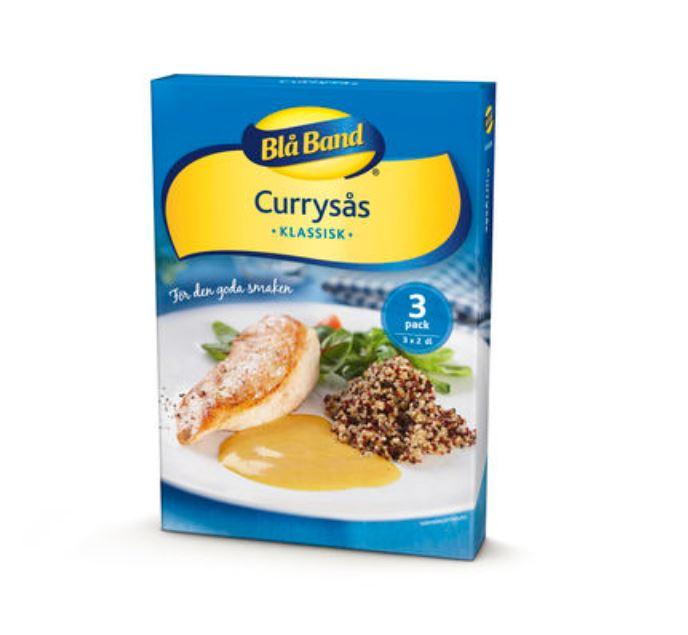 Currysås Pulver Blå Band 3p