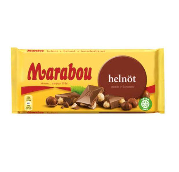 Marabou helnöt 200g