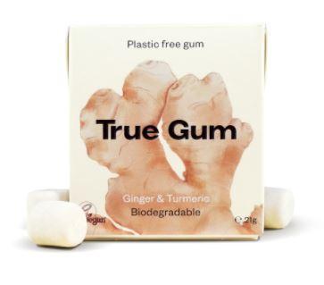 True Gum Ingefära och Gurkmeja