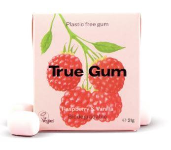 True Gum Hallon/Vanilj