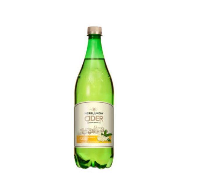 Cider Fläder Alkoholfri Pet Herrljunga 1l
