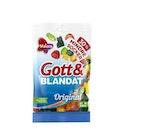 Gott&blandat Mindre Socker Malaco 110g