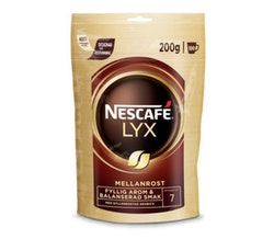 Nescafé Lyx Mellanrost Snabbkaffe 200g