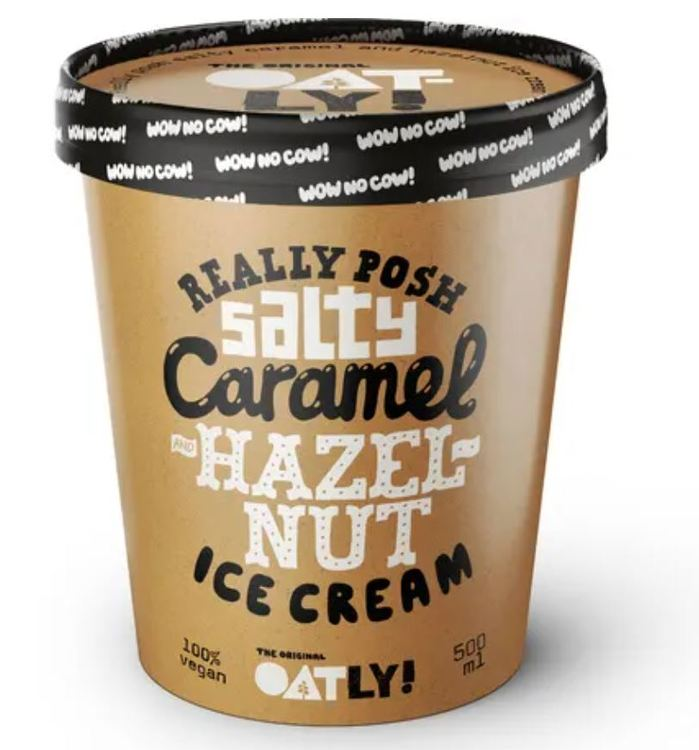 Oatly Salty caramel hazelnut 0,5L