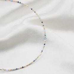 Blå marmor