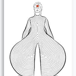 Bowie Illustrasjon