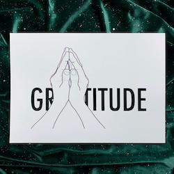 Gratitude illustrasjon