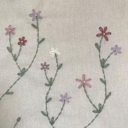 Handlenett med blomster