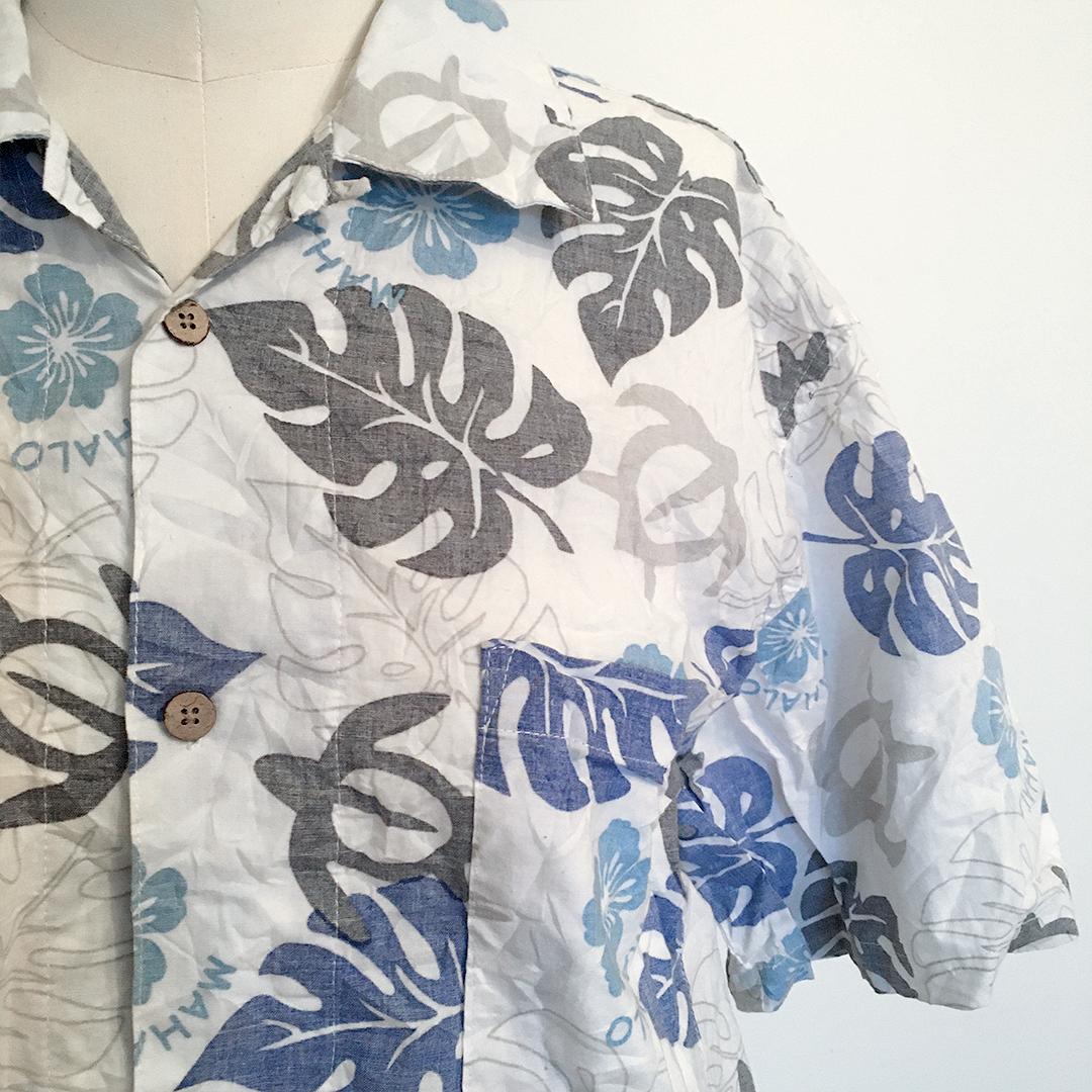"Redesignet ""Hawaii"" skjorte"