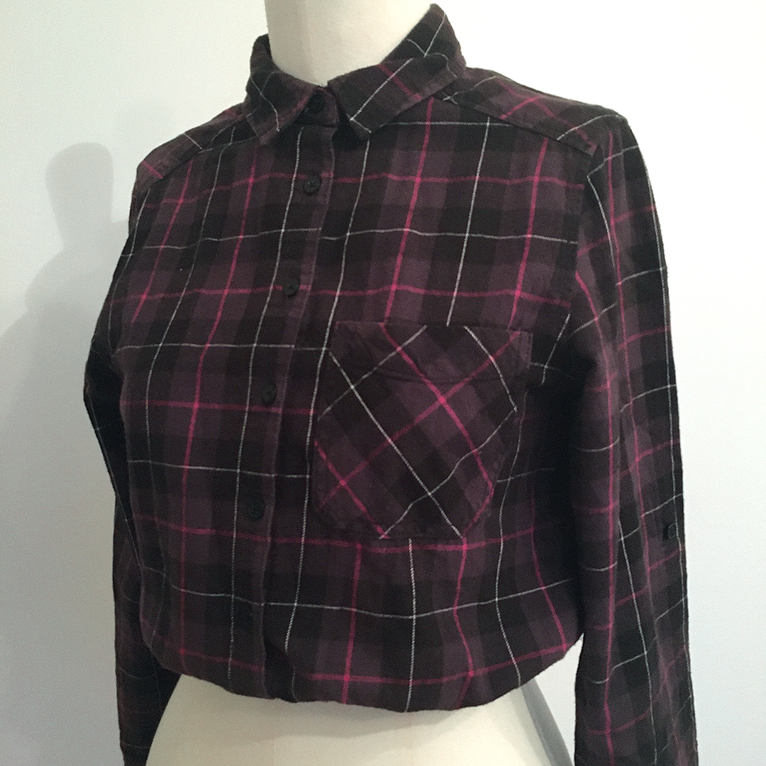 Redesignet flanellskjorte