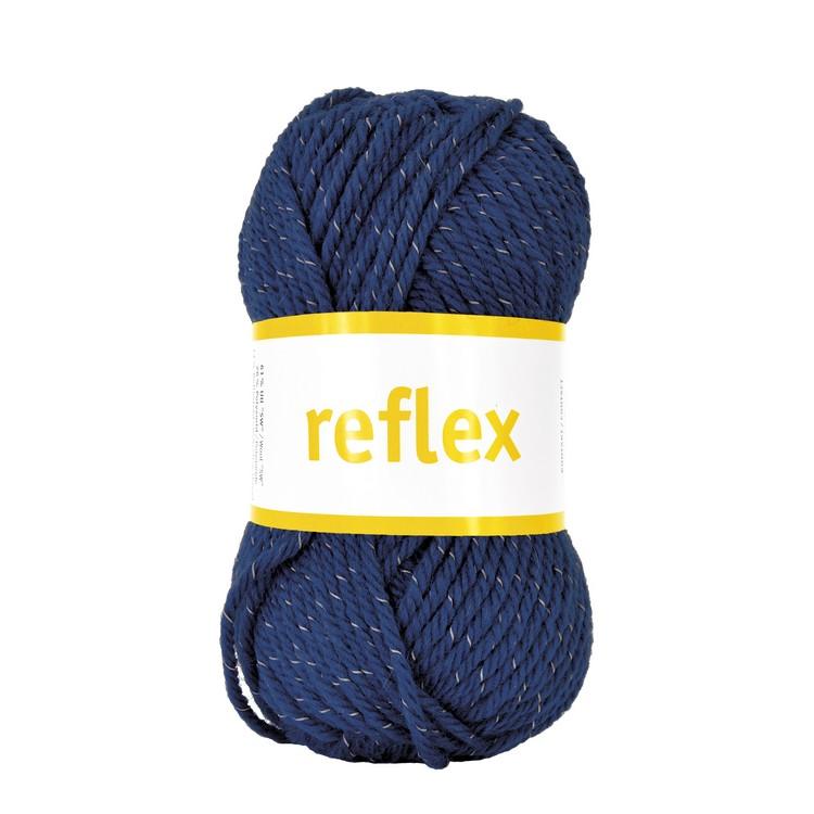 Järbo garn Reflex blå 34110