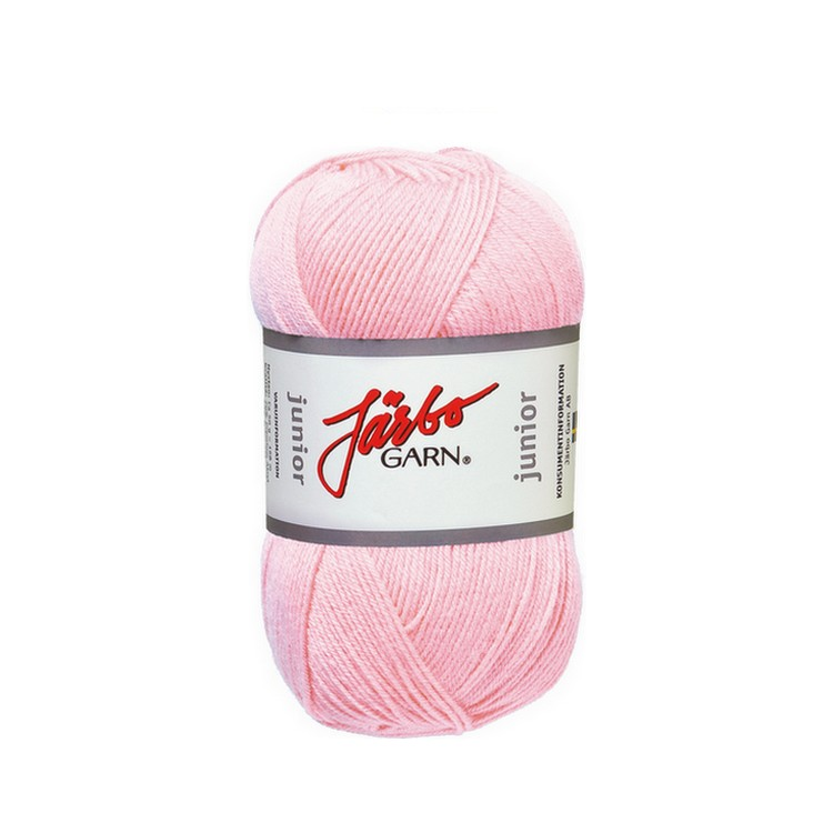 Järbo garn Junior Babyrosa 67004