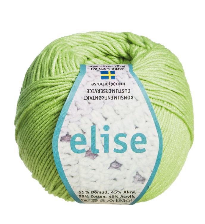 Järbogarn Elise pastellgrön 69209