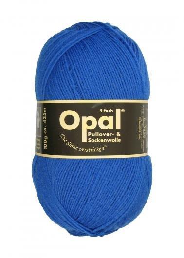 Garn Opal enfärgad Opal  mellanblå 5188