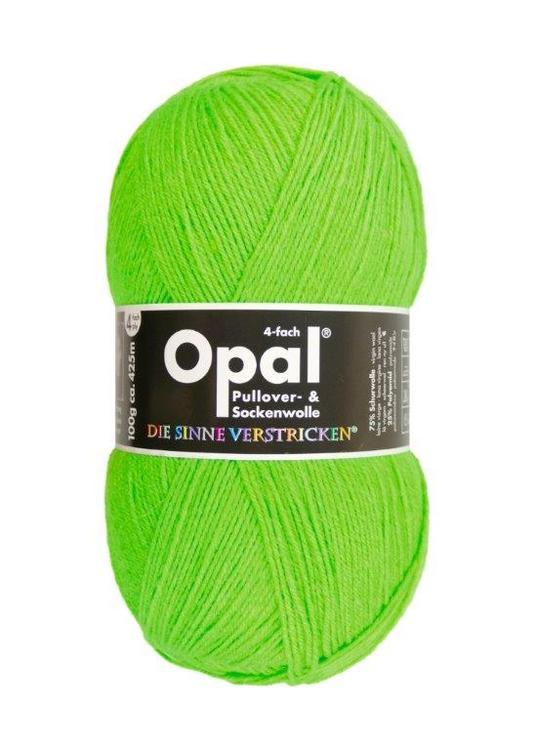 Garn Opal enfärgad Opal neongrön