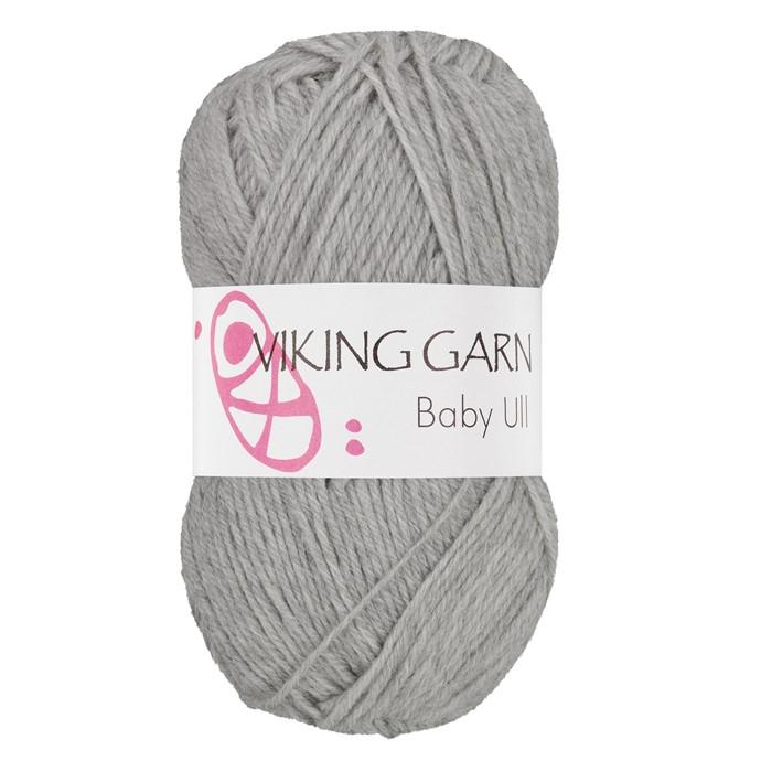 Viking Baby ull färg nr 313 mellangrå