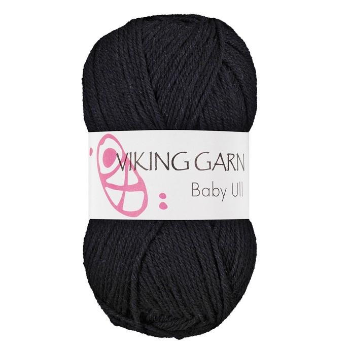 Viking Baby ull färg nr 317 koxgrå
