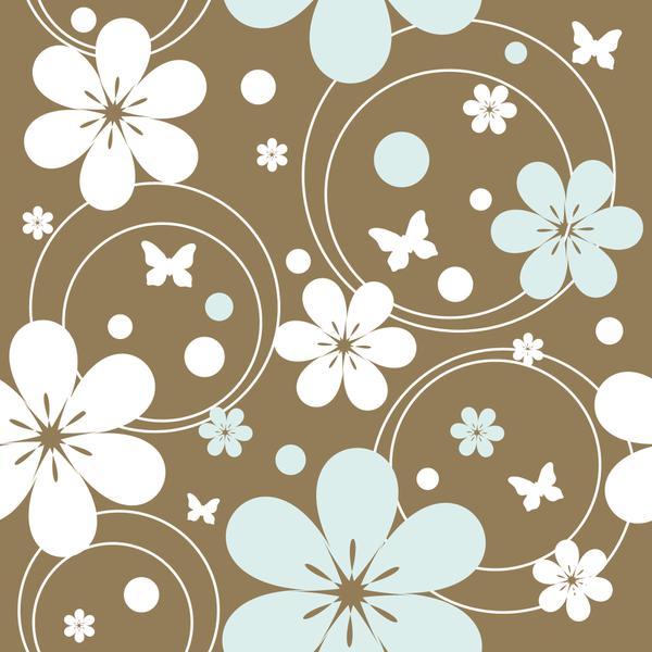Blomma brun
