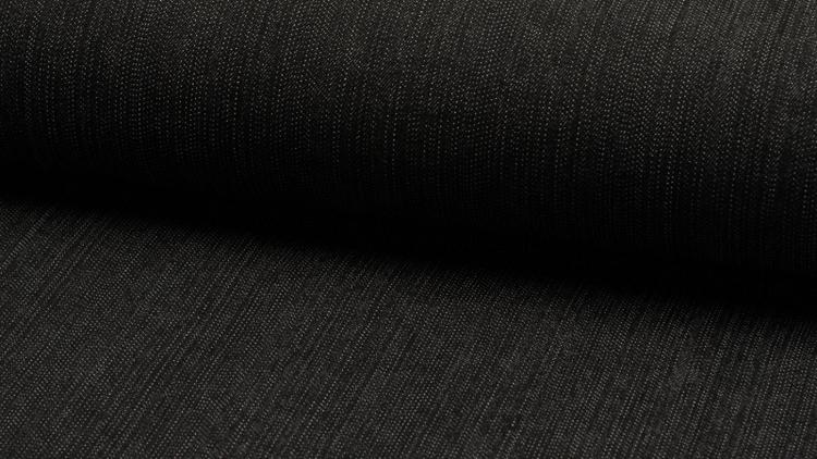 Jeans stretch 12 oz otvättad Svart