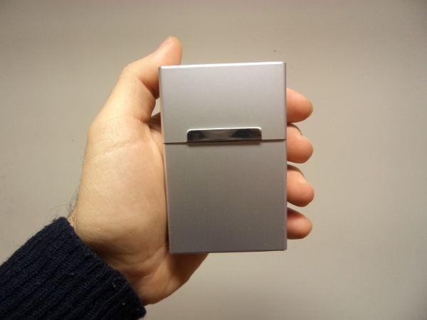 Cigarettetui Classy Aluminium