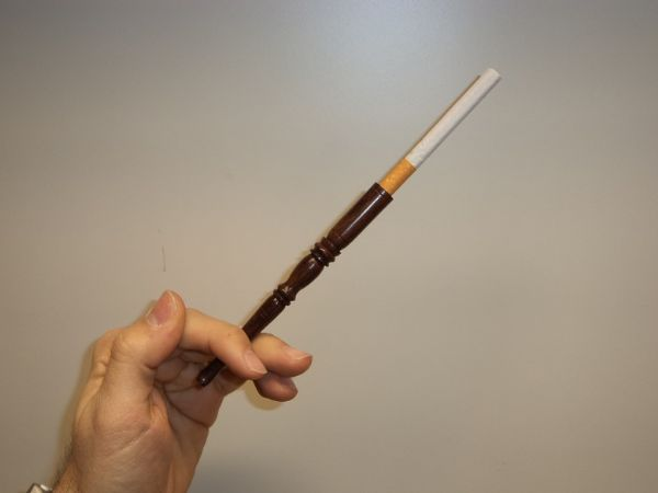 Cigarettmunstycke 13 cm + Piprensare