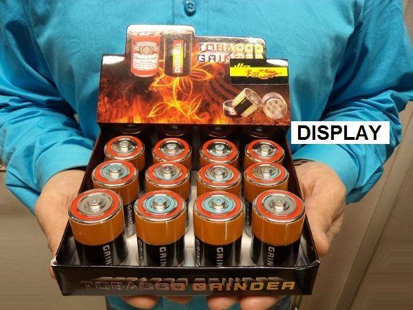 Grinder Batteri 3 delar
