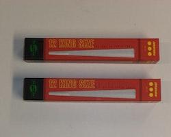 Färdigrullade koniska cigarettpapper (2 förpackningar x 12st)