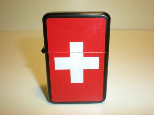 Bensintändare Schweiz + tillbehör