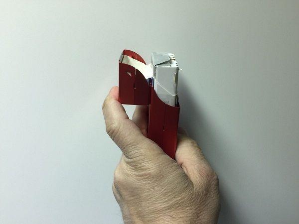 Cigarettetui 100s Aluminium