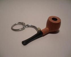 Minipipa i nyckelring
