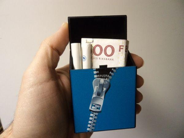 Cigarettetui Zipper