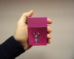 Cigarettetui Pink Love