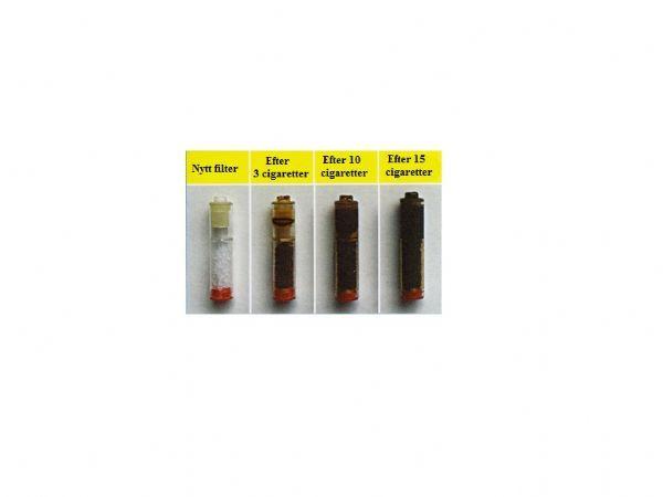 Cigarettmunstycke Fibam + 10 Filter