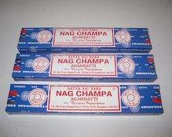Nag Champa Rökelse 3 X 10st
