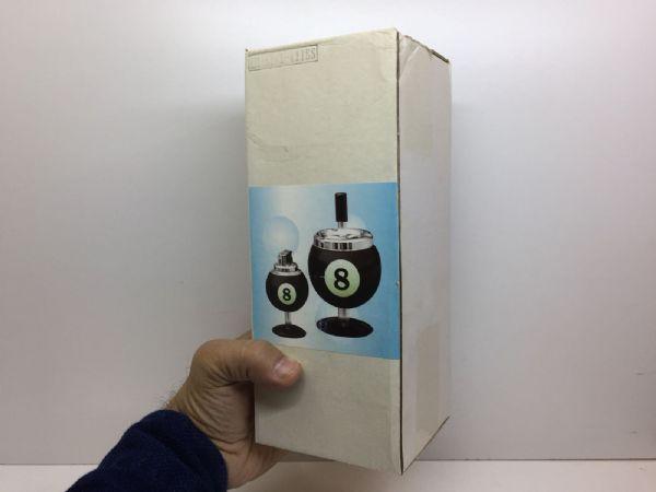 Askkopp Biljardboll + Tändare
