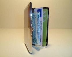 Plåtplånbok Lines med fickor