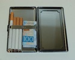 Cigarettetui Metall (även för 100s)