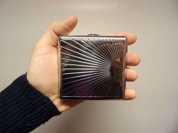 Cigarettetui Metall Choosey
