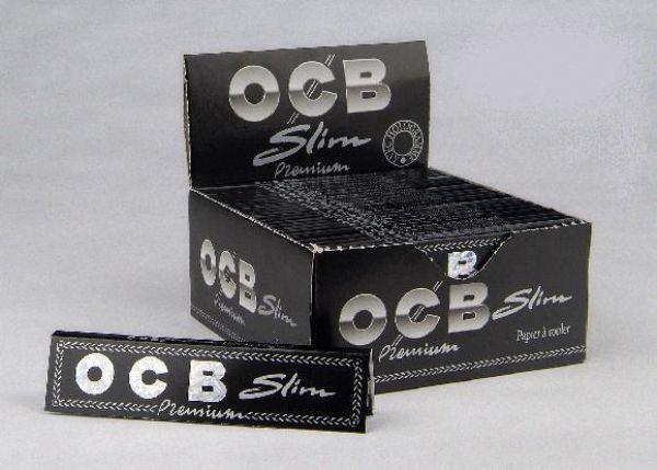 OCB Kingsize Slim DISPLAY (cigarettpapper)