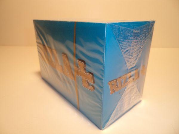 Rizla Ljusblå Mini DISPLAY (cigarettpapper)