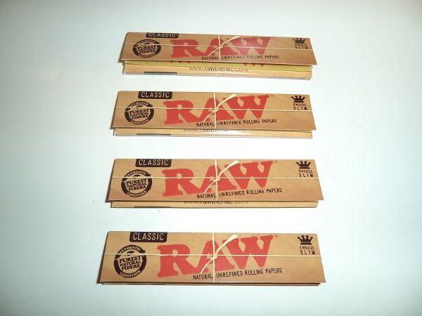 RAW Kingsize Slims DISPLAY (cigarettpapper)