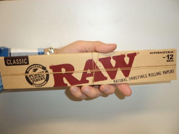 RAW Kingsize Slims 30 cm (2 förpackningar) cigarettpapper