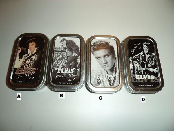 Cigarettetui Elvis Presley