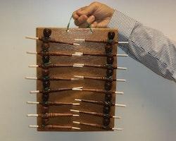 Display: 16 pipor (Indiska pipor)