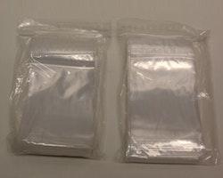 Blixtlåspåsar / Zippåsar: 100x150 mm