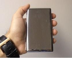 Cigarettetui Metall Holder