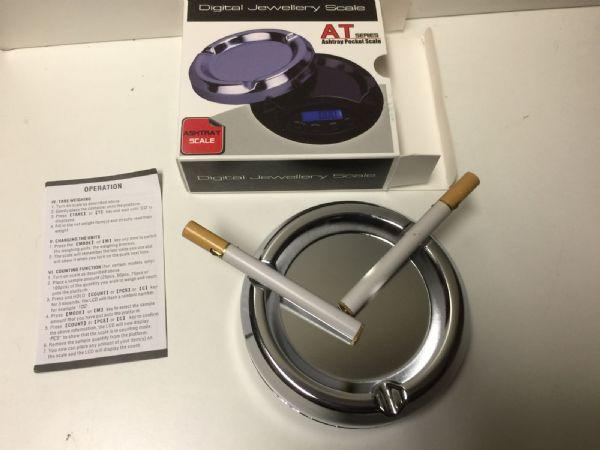 Digitalvåg Askkopp 100 / 0.01 gram